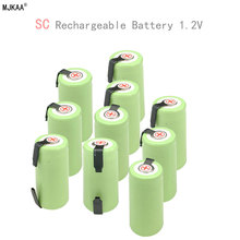 10pcs 1.2V 22*42 Ni-MH Battery Sub C SC 22420 with an Extension Cord Processed into Tools Pack