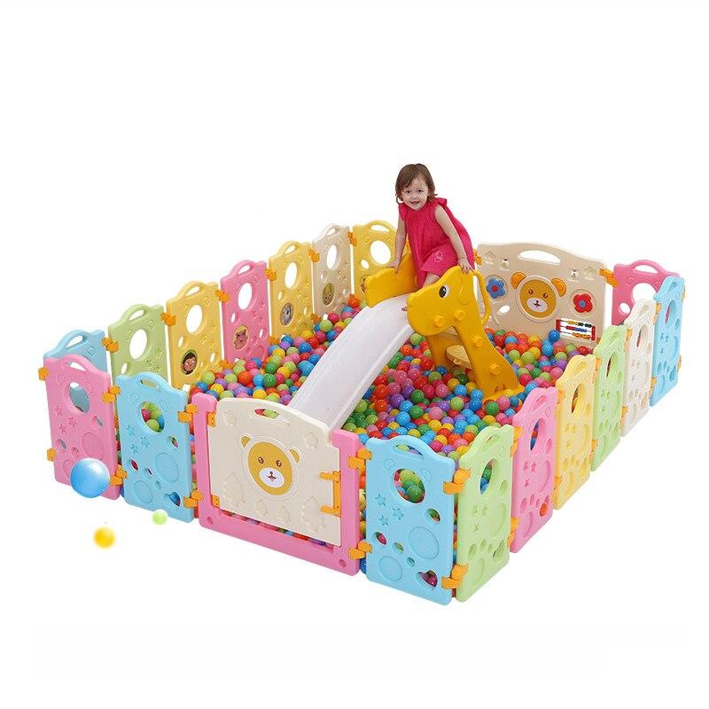 Kids Playpens Indoor Baby Play Fence Kids Activity Gear ...