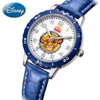 Little Simba Lion King Children's Quartz Watch PU Band Waterproof Fashion Casual Blue Kid Disney Cartoon Watches Gift Kol Saati
