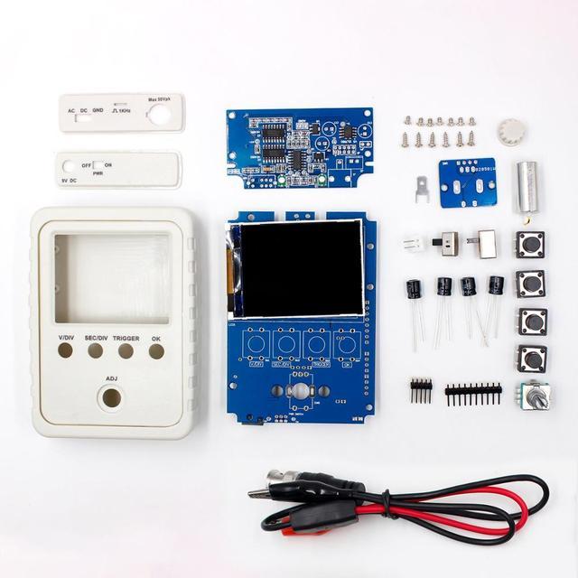 DS0150 15001 K DSO-SHELL (DSO150) bricolage Kit d'oscilloscope numérique avec boîtier boîtier boîte livraison gratuite