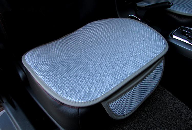 Image 3 - Cool car seat cushion Car Seat Cover car mats Set Breathable Wear comfortable linen car Seating cover-in Automobiles Seat Covers from Automobiles & Motorcycles