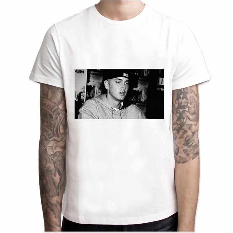 bdb95e98c2 eminem T-shirts Men's Creative Design Summer Tee shirts Casual Streetwear  modal Tops New Funny