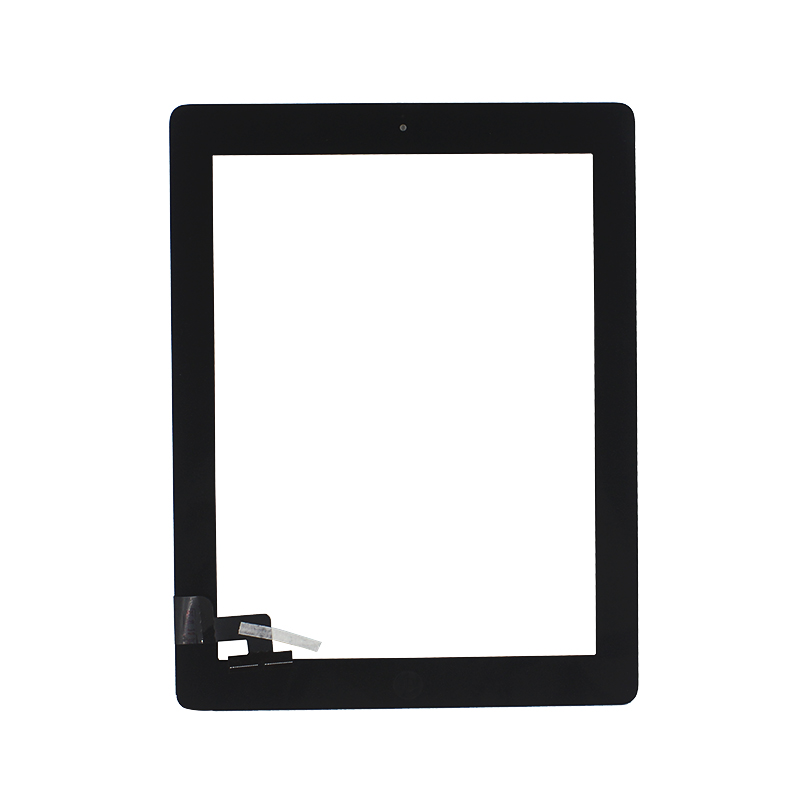 ALANGDUO for ipad 2 ipad2 a1395 a1396 a1397 Apple Touch Screen Digitizer Glass Panel Replacement touchscreen with Home button