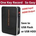 Original Genuine Ezcap280H Jogo HD placa de Captura de Vídeo 1080 P HDMI câmera de vídeo recorder box para xbox ps3 ps4 tv set-top caixas