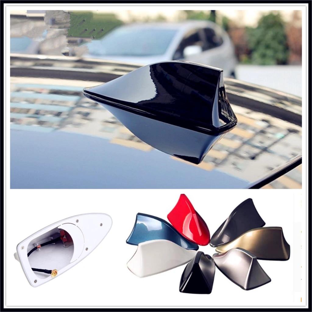 LSJVFK Universal Car Shark Fin Antenna Car Styling for All Car Models