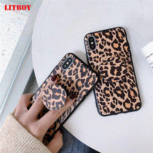 Fashion Leopard Print Phone Case For iphone XS Max XR X Case