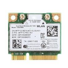 Dual Band Bluetooth 4.0 Wireless Mini PCI-E Card For Intel 7260 AC For DELL 7260HMW
