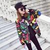 Korean New Fashion Women S Winter Loose Camouflage Cotton Coat Short Jackets Lovers Baseball Clothing Female