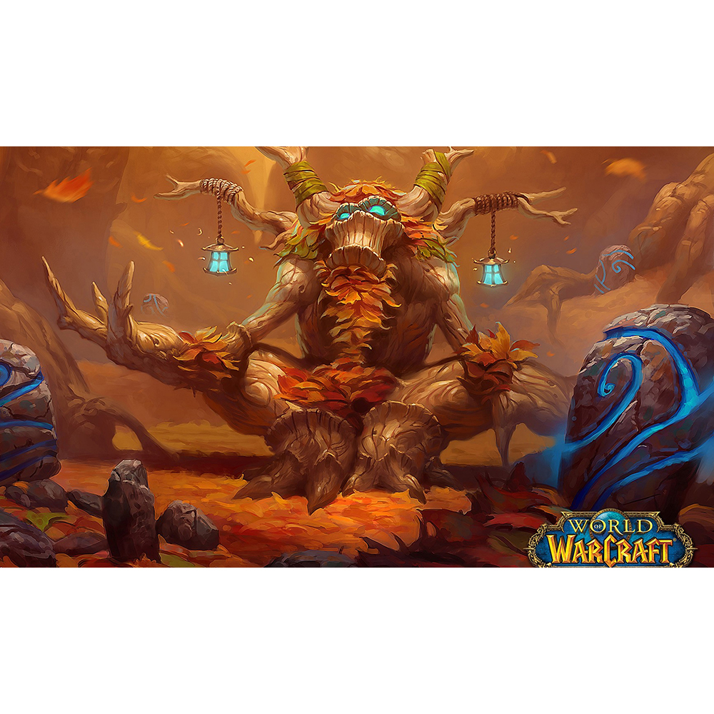 NO.12 The Tree Elder Playmat Table Pad Game Cards Pad Custom Playmats Can Also be Custom Printed