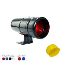 Универсальный 1000-11000 об/мин регулируемая Тахометр Предупреждение переключения светильник красный/синий светодиодный светильник автомобиль метр с Тахометр крышка