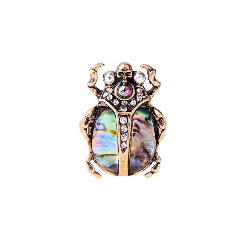 נשים אישית צבעים גולגולת חרקים טבעת סיטונאי אביזרי אופנה טבעת 2018 אצבע חמה למכירה aliexpress