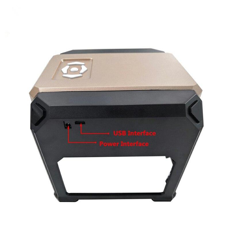 Nouvelle CNC Machine de gravure Laser logo bricolage marque imprimante coupe Laser sculpture MachineNouvelle CNC Machine de gravure Laser logo bricolage marque imprimante coupe Laser sculpture Machine