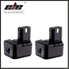 2x Eleoption 12 В Аккумулятор для Hitachi EB1212S EB1214S EB1220BL WR12DMR CD4D DH15DV C5D