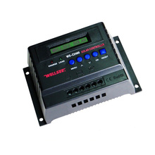 WS-C2460 Контроллер заряда 50A Авто 12/24 V ЖК-дисплей дисплей ШИМ контроллер