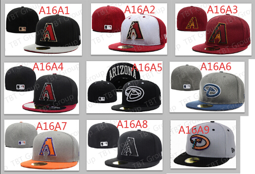 Wholesale Classic Arizona Diamondbacks Fitted Hats Baseball embroidery logo  sport team Closed Caps 10566e44baa