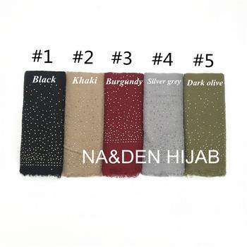 1pc overzise wiskoza frędzle gorące diamentowe szpilki szalik szalik zwykły maxi hidżab kobiety szale stałe muzułmańskie 10 sztuk szybka wysyłka tanie i dobre opinie NA DEN HIJAB Dla osób dorosłych WOMEN Z szyfonu COTTON Scarf moda Szaliki 175 cm HND138-1 viscose 200*120cm 125g opp bag each scarf
