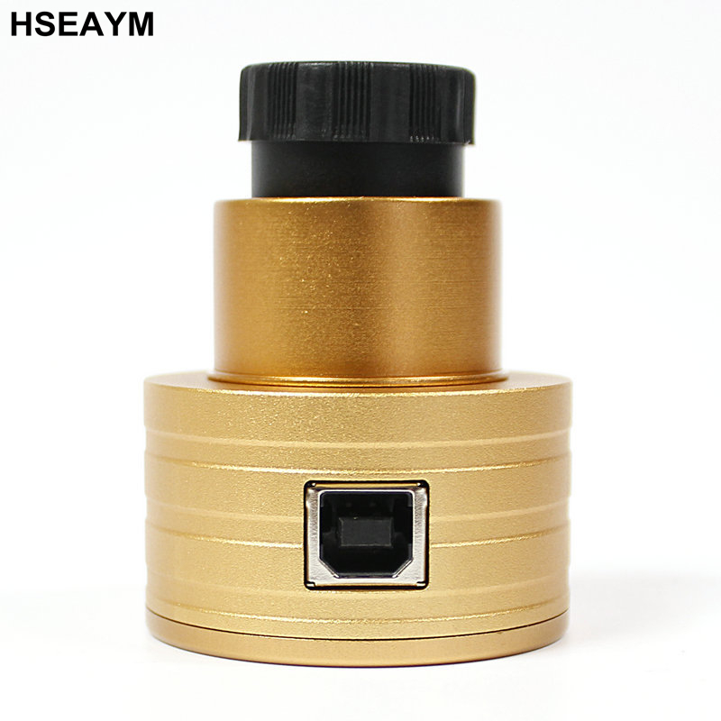 HSEAYM USB Digital Eyepiece  2.0 MP Image Sensor Telescope Camera lens Electronic Ocular for Photography - 1.25 and 0.965 Port 1 25 smart webcam 2 0mp wifi electronic eyepiece cmos smart usb digital astronomy monocular telescope camera ocular lens w2565