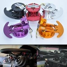 Jk racing wb volante de alumínio, universal de corrida, volante, liberação rápida, hub, inclinação, direção