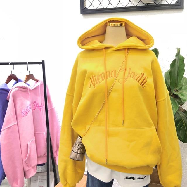 Chic Letter Hoodies Sweatshirts 1