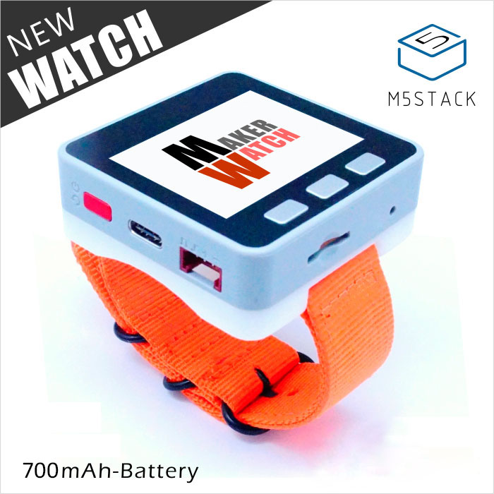 M5Stack Multi function Watch With 700mAh Battery for Arduino Micropython ESP32 Core Intelligent Programmable Watch with