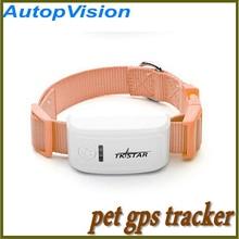 Marca TKSTAR mundial en tiempo Real Pet tracker GPS para perros gatos, Pet dog / cat GPS de seguimiento de cuello sin la caja original