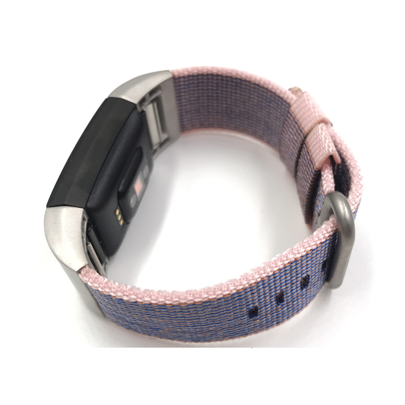Fitbit Blaze charge2, Joyozy Nylon Weave with Comfortable Fabric-like Feel Watch Band Wrist Strap Accessories For Fitbit charge2 crested stainless steel watch band for fitbit charge 2 bracelet smart watch strap for fitbit charge2 with connector