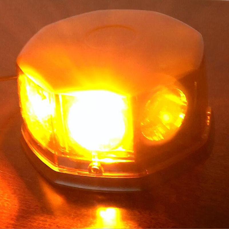 8 LED Beacon Car Emergency Lights Hazard Warning Auto Strobe Light w - Bilbelysning - Foto 4