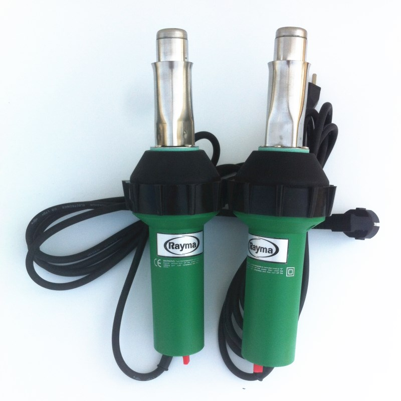 2 pcs packaged new 2017 bestselling high quality ! low price plastic welding gun heat air gun hot air welder