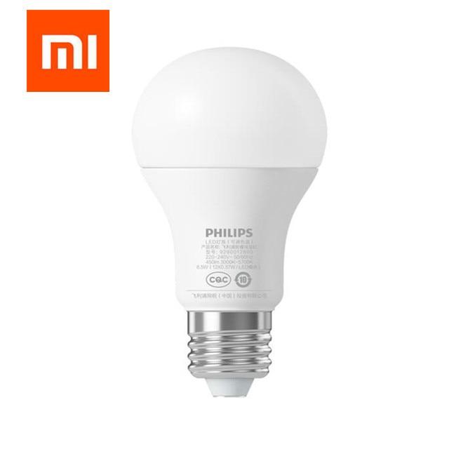 Оригинал Сяо Mi Smart светодиодные лампы Wi-Fi Дистанционное управление Регулируемый Яркость ОФТАЛЬМОЛОГАМИ свет Смарт лампа белого цвета
