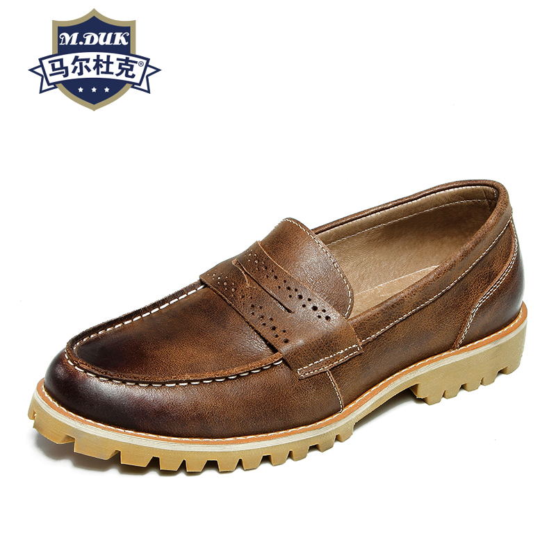 spring autumn summer Genuine leather all-match cowhide men's casual shoes loafer shoes men Driving shoes male lazy soft casual vesonal driving brand genuine leather casual male shoes men footwear adult 2017 spring autumn comfortable soft driving for man