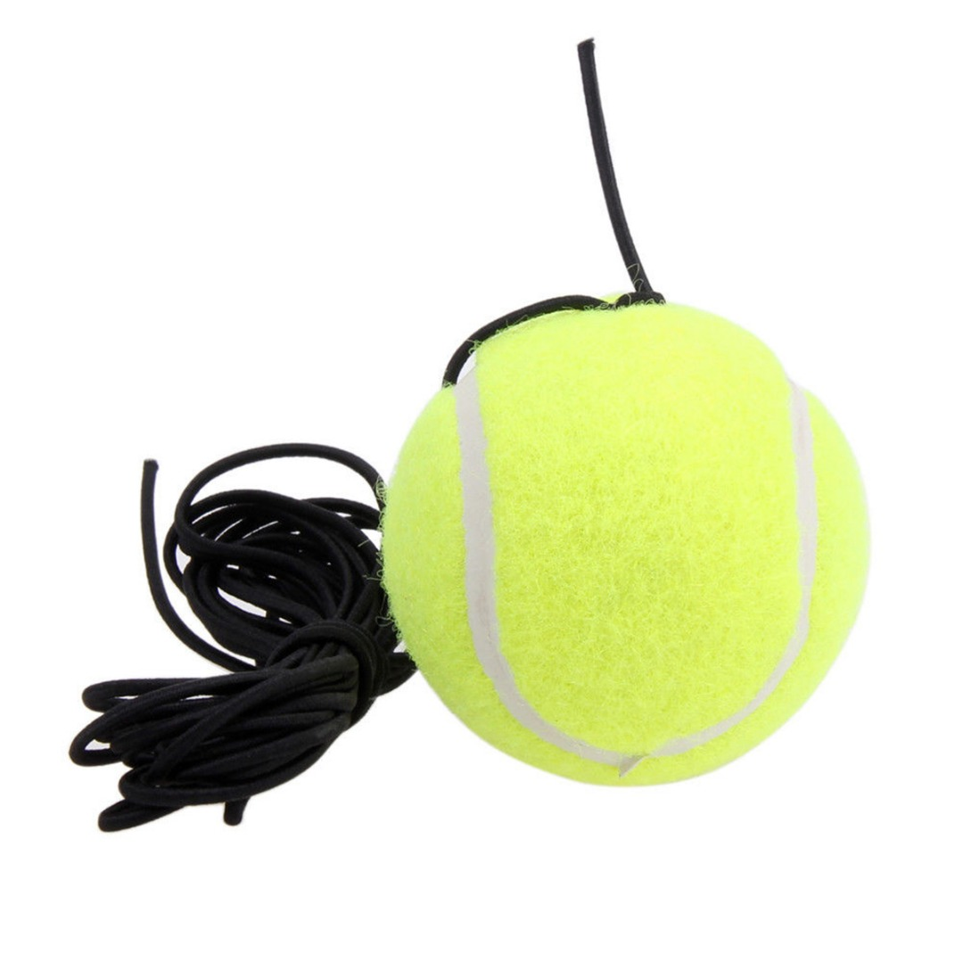 1Pcs Rubber Woolen Trainer Tennis Ball With String For Single Practice Training Rubber Competition Tennis Ball Hot Sale