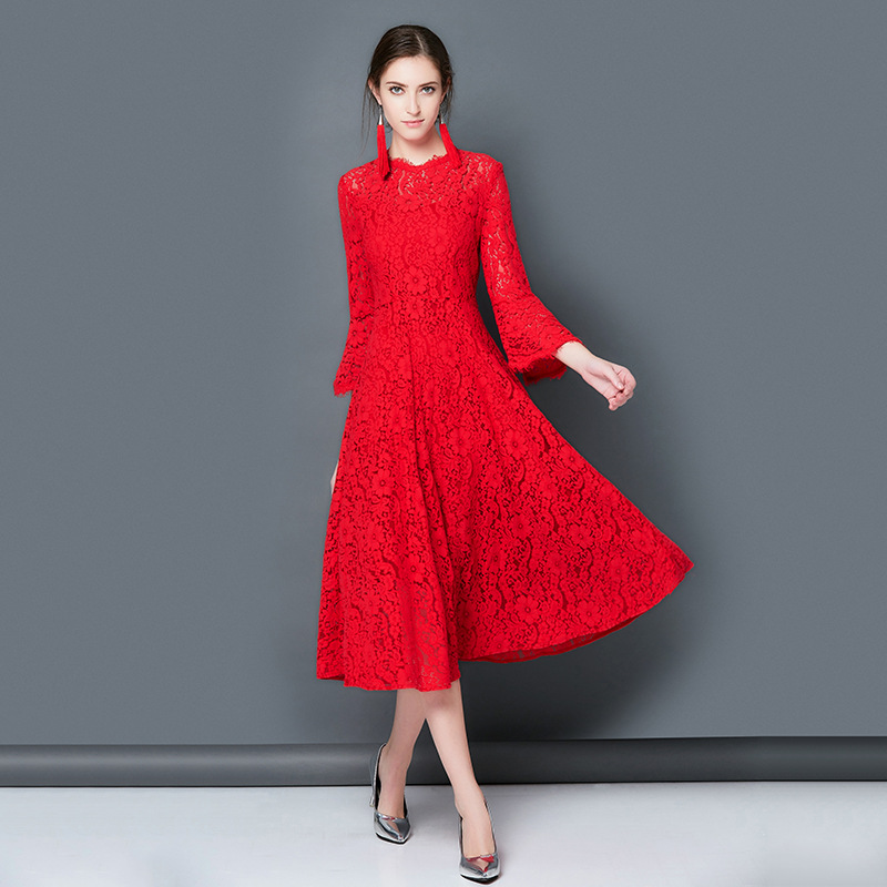 Online Buy Wholesale red engagement dresses for woman from China ...