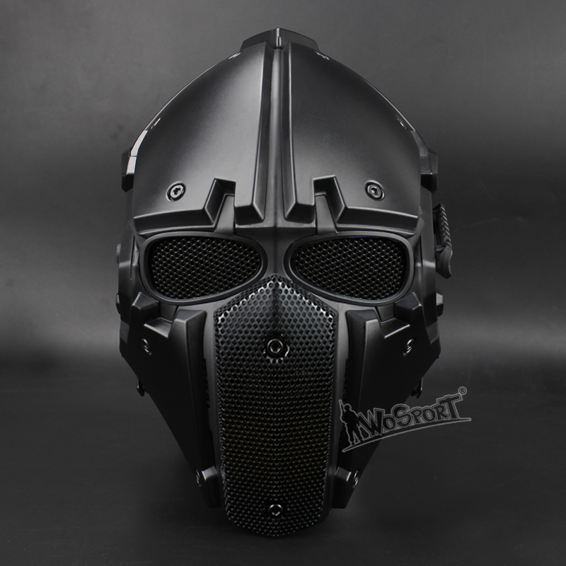 WoSporT Full Face Motorcycle Tactical Airsoft Paintball Military Breathable Adjustable Tactical Helmet with Fan to Clear Mist high quality outdoor airframe style helmet airsoft paintball protective abs lightweight with nvg mount tactical military helmet