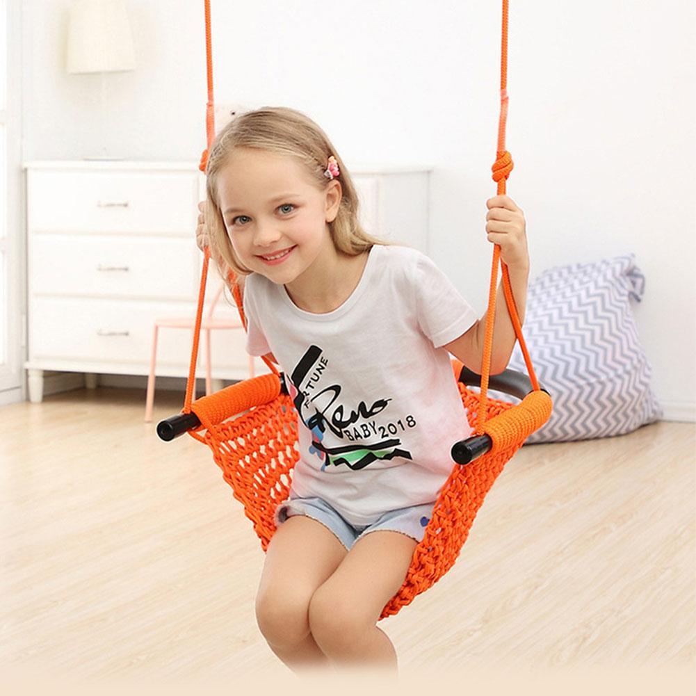 Детская игрушечная Веревка Чистая Детская качели подвесное кресло гамак бытовой 3 в 1 Крытый и открытый отдыха Удобная