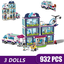 Toys Building-Blocks Heartlake-City Legoe-Friends Girls Small Boys Compatible Children
