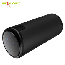 Zelot S8 Nirkabel Bluetooth Speaker Outdoor Kolom Hi Fi Stereo Subwoofer Musik Box Portable High-Power Speaker Mendukung TF Kartu(China)