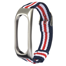 Lightweight Nylon Adjustable Replacement Band Sport Strap For XIAOMI MI Band 2 Replacement