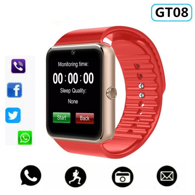 7ef3274b3 RsFow GT08 Smart Watch For Apple Watch Men Women Android Wristwatch Smart  Electronics Smartwatch With Camera SIM TF Card PK Y1