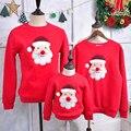 A família Roupas Combinando 2016 Camisola Do Natal Vestido Para O Pai Mãe Filho Filha Bebê Mon Pai Roupas Olhar Família