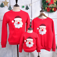 Family Matching Clothes 2016 Christmas Sweater Clothes For Mon Daughter Father Mother Son Baby Mon Dad