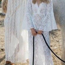 Lace Beach Cover up Sarong Beach Wrap Pareos Para Playa Swimwear Cover up Women Robe Plage Beach Kaftan Beach Dress цена 2017