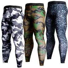 Mens Compression Pants Running Jogging Fitness Gym Leggings
