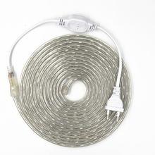 Светодиодная ленсветильник 220 В переменного тока smd 5050 гибкая