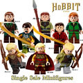 1 unid los hobbits señor de los anillos knight diy figuras montaje modelo diy bloques huecos de los niños juguetes educativos regalo navidad