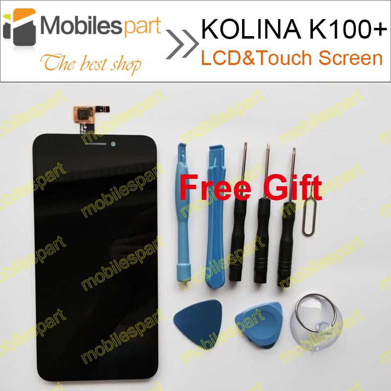 Prix pour KOLINA K100 + LCD Écran 100% Nouveau Écran lcd + Écran Tactile de Remplacement Accessoires Pour KOLINA K100 + Livraison Gratuite