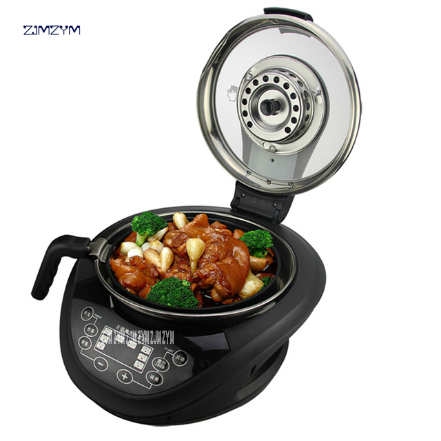 220V Multi Cooker Frying Pan Automatic Cooking Machine Intelligent Cooking Pot automatic Cooking Robot TR20105-A Food Processors 2
