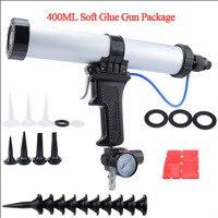 Silicone For Sealant Caulk Tool Air Valve Tools Silicon Tools Construction Gun Pistol With Pistons 400ml Pneumatic Sealant Gun