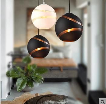 Nordic Creative  Retro Ball Bubble Pendant Lights  Cafe Bar Store Restaurant Dining Room Hall Club Pendant Hanging Lamp