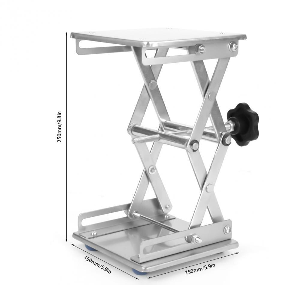 Профессиональный лабораторный домкрат, подъемная платформа, подставка для ножниц, 150*150*250 мм, 100 мм* 100 мм* 160 мм, Подъемные Инструменты