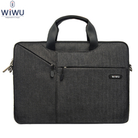 WiWU Laptop Handbag for 11.6 12 13 13.3 15.4 15.6 Inch Notebook Tablet Bag Shoulder for Apple iPad Macbook Air Pro Men Women